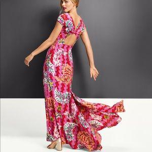 Zac Posen x Target safety pin maxi gown dress